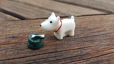 DOG and BOWL dolls house 24th scale 1:24th house garden miniature UK