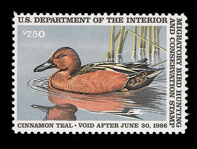 Very Nice Genuine Scott #Rw52 Xf Mint Og Nh Federal Duck Stamp - Priced To Sell.