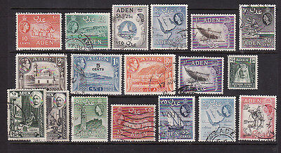 Aden used stamps 1950s-60s