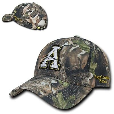 ba61417a1b455 ASU Appalachian App State Mountaineers Relaxed Polo Camo Cotton Baseball  Cap Hat
