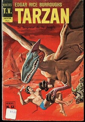 BD Tarzan le Seigneur de la Jungle No. 12 Edgar Rice Burroughs 1969