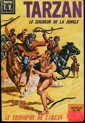 BD Tarzan le Seigneur de la Jungle No. 21 Edgar Rice Burroughs 1969