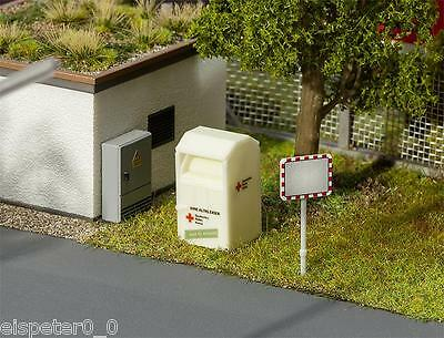 Old Clothing Container, Faller Model Building Kit Miniatures H0 (1:87), Item