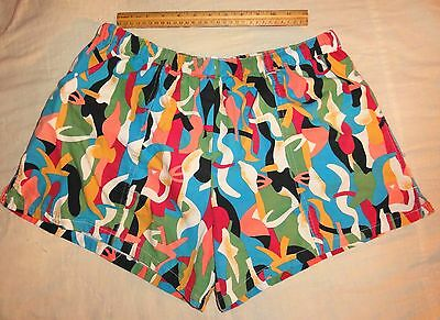 Vintage Stubbies Brand Mens Swim Trunks Bathing Suit Short Shorts