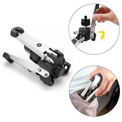 "3/8"" 3 leg Monopod Support Stand Holder Ballhead Tripod For Canon Nikon Camera"