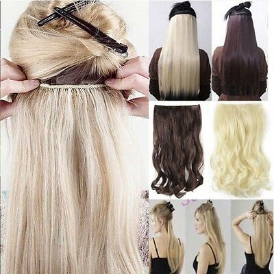 EXTENSIONS DE CHEVEUX A CLIPS 100% NATURELS as REMY HAIR 43-66CM 5 clips fr