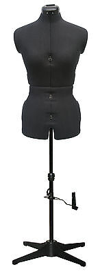 Adjustoform 023816/Black Sew Simple 8-Part Adjustable Dressmaker's Dummy UK10-16