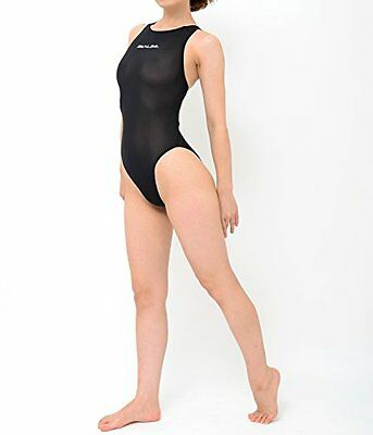 realise N-1001 swimsuit normal back Second Skin Black S size from japan new