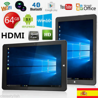 "11.6"" HDMI Tablet PC Windows 10 & Android 5.1 Teclast Tbook 16 4GB/64GB WIFi BT"