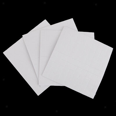 4 sheet DOUBLE SIDED ADHESIVE FOAM PADS STICKY FIXERS FOR CARD MAKING 1.5mm