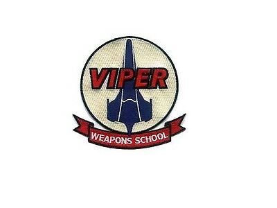 Battlestar Galactica ecusson Viper Weapons School Viper's pilot patch