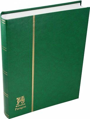 """Wessex Paragon 32/64 side White Page Stamp Stockbooks 'A4' size (12"""" X 9"""")."""