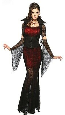 d guisement vampire femme vampiresse gothique costume. Black Bedroom Furniture Sets. Home Design Ideas