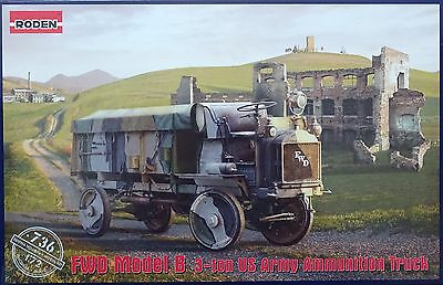 RODEN® 736 FWD Model B 3-ton US Army Ammunition Truck in 1:72