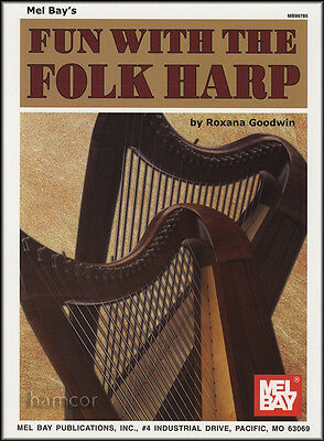 Fun with the Folk Harp Learn How to Play Beginner Method Sheet Music Book