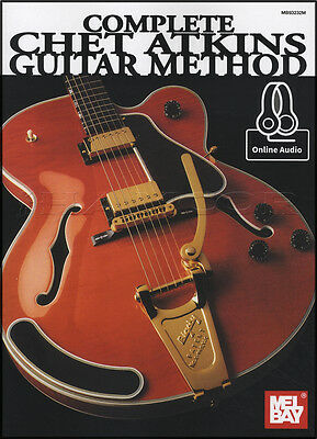 Complete Chet Atkins Guitar Method TAB Music Book with Audio Access