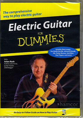Electric Guitar for Dummies DVD Learn How to Play 30 Beginner Lessons Arlen Roth