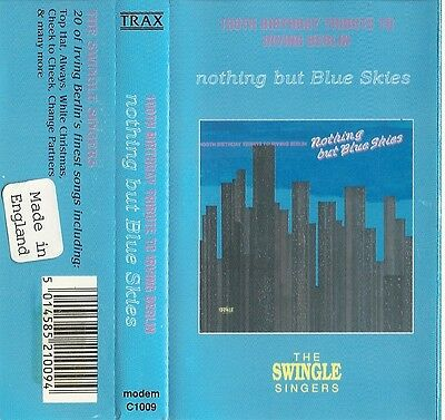 RARE 100th Birthday Tribute To Irving Berlin - Nothing But Blue Skies (Cassette)