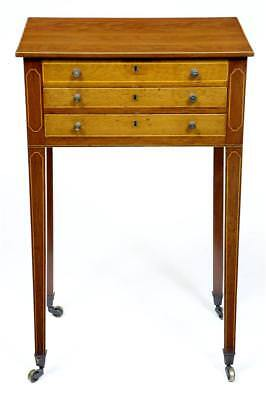 Early 19Th Century Mahogany Work Table