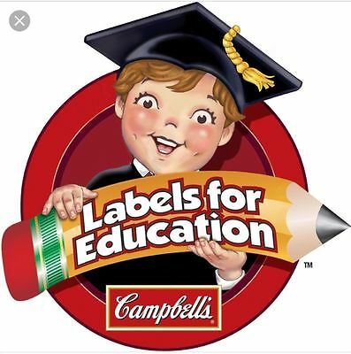 100 Campbell's Campbells Soup Labels For Education Trimmed