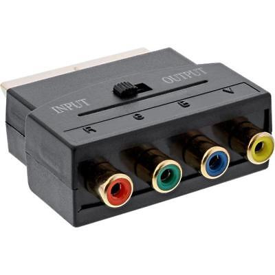 Cable Scart Adapter RGB on Component YUV Video In/Out