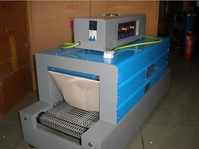ECO Thermal Heat Shrink Packaging Machine Tunnels for POF/ PVC/PP 220V 50HZ 3KW