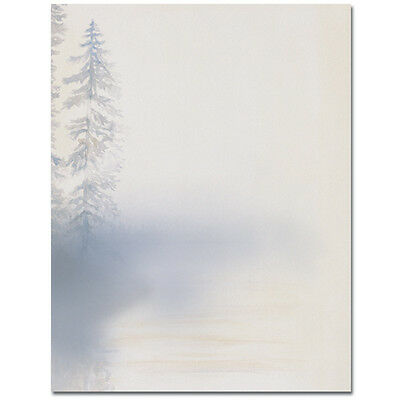 Morning Mist All Occasion Stationery Letterhead 25 or 80pk