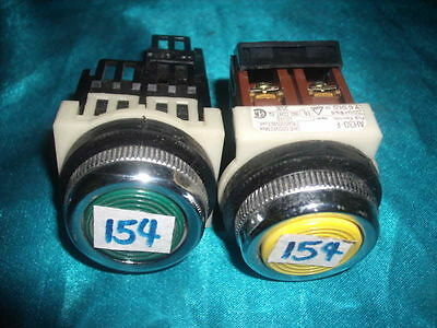 Lot 2pcs Fuji Electric  AH30-F5, AH30-F AH30F5 AH30F Pushbutton