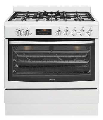 NEW Westinghouse 90cm Dual Fuel Freestanding Oven/Stove WFE914SB