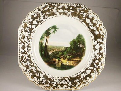Lord Nelson Crossing The Brook Cake Plate