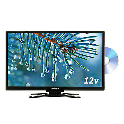 Finlux 22 Inch Full HD TV 12V Travel Plus Built In DVD Freeview  (22FBE274B-NCM)