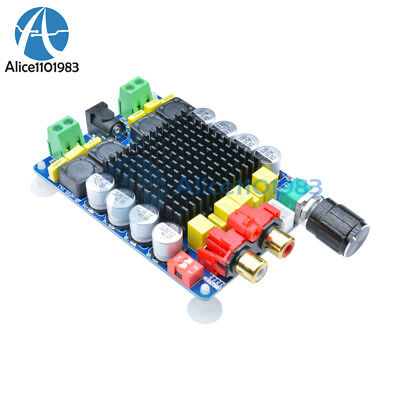 TDA7498 Dual-Channel Class D 2X100W Audio Stereo Amplifier Board Component Power