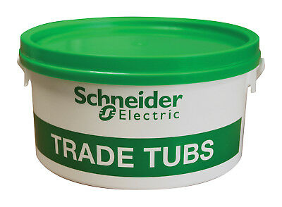 Schneider Tub - Red Wall Rawl Plugs & Screws: Free Masonry & Pozi Driver Bits