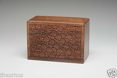 Rosewood Cremation Urn - 2nds - Bargain! - Adult Size - Tree of Life
