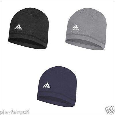 New For AW 2016 - Adidas Golf Men's Microfleece Beanie Hat - One Size Fits Most