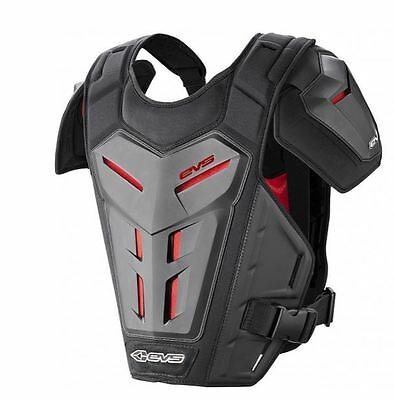 EVS RV5 Chest Protector Roost Guard MX Moto Off-Road ATV BLACK Small-X-Large