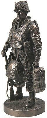 Khaki Army Limited Edition 7 Inch Statue Paratrooper