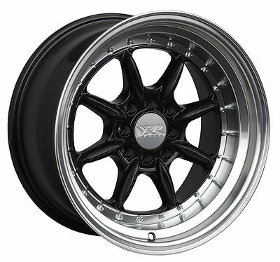Xxr 527 15x8 25 4x100114 3 0 Black Wheels Fits Carrado Del So