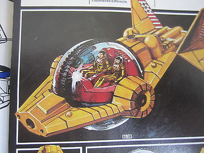 Britains Sci Fi Toy Space vehicle figure Soldier Playset Lot Vintage ufo Ad 1981