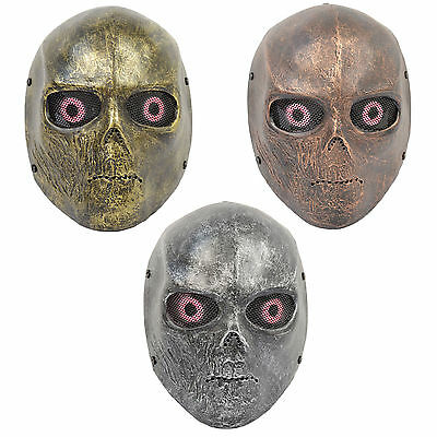 Multi-colors Full Face Wire Mesh Protection Terminator Terror Mask Airsoft HJ53