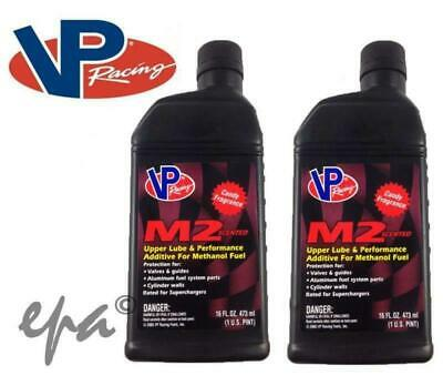 2 x VP RACING M2 UPPER CYLINDER LUBE CANDY SCENT METHANOL & ETHANOL ADDITIVE E85