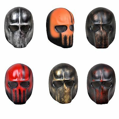 6 Colors ELLIOT DMF Skull Full Face Protection Airsoft Paintball Protection Mask