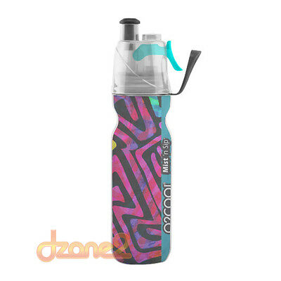 O2COOL Insulated ArcticSqueeze Mist'N Sip Bottle 20 oz.- ARTIST DESIGN (D)