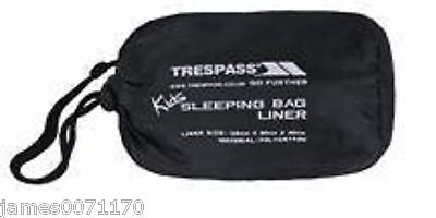 Kids sleeping bag liner Trespass   Pollycotton Sleeping Bag Liner