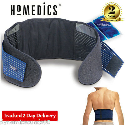 HoMedics MW-BHC2-0EU Hot and Cold Magnetic Therapy Back Wrap Support L/XL