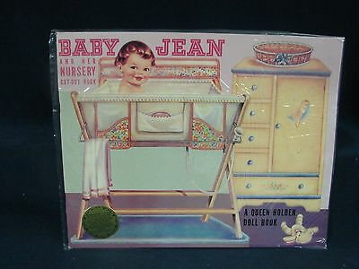Baby Jean and her Nursery cut out Book Paper Doll Queen Holden Merrimack 1985