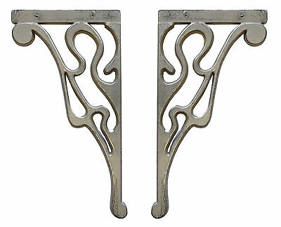 (2) Metal Shelf Corbels