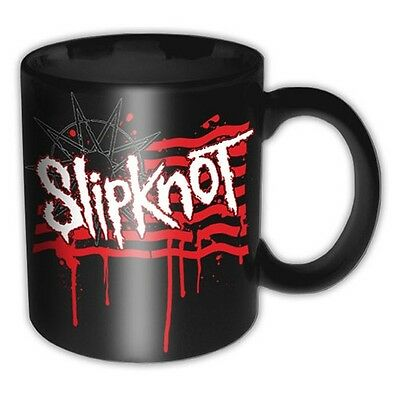 Mug Slipknot - Dripping Flag And Logo