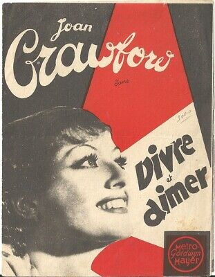 D SADIE MCKEE JOAN CRAWFORD FRANCHOT TONE FRENCH Double HERALD MINI POSTER