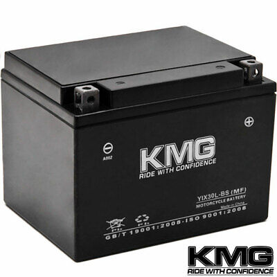 NEW High Performance 12V SMF Battery NEW Replacement YIX30L-BS Maintenance Free